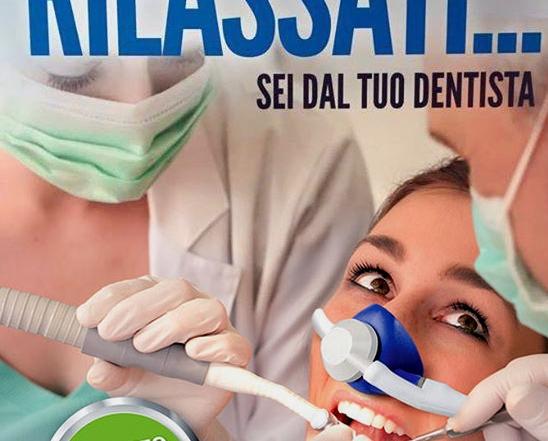 Paura dal dentista? No grazie!   Sedazione cosciente con protossido d'azoto